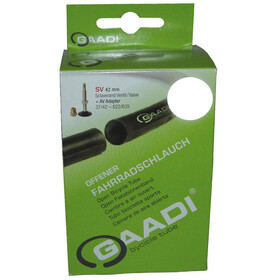 "Gaadi Inner Tube 26"" 37/50-559, black"